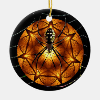 SpidersBall Ceramic Ornament
