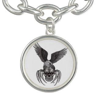 Spiderskull with Eagle Bracelets
