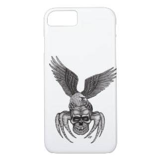 Spiderskull with Eagle Case-Mate iPhone Case