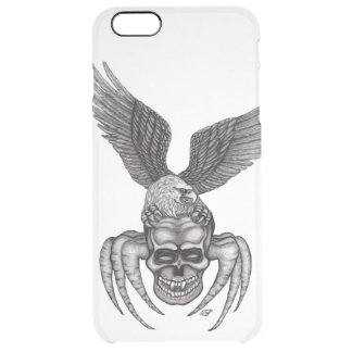 Spiderskull with Eagle Clear iPhone 6 Plus Case