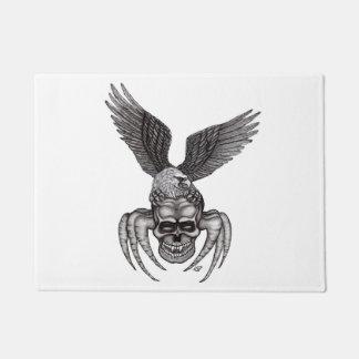 Spiderskull with Eagle Doormat