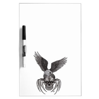 Spiderskull with Eagle Dry Erase Board