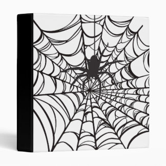 Spiderweb Halloween Binder