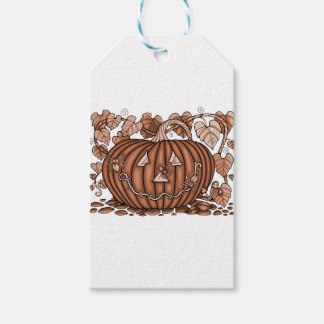 Spidery Pumpkin 20 Gift Tags