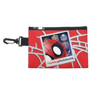 #spideyphotobomb Spider-Man Emoji Accessory Bag
