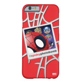 #spideyphotobomb Spider-Man Emoji Barely There iPhone 6 Case