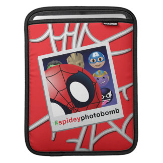 #spideyphotobomb Spider-Man Emoji iPad Sleeve