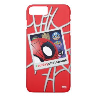 #spideyphotobomb Spider-Man Emoji iPhone 8 Plus/7 Plus Case