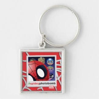 #spideyphotobomb Spider-Man Emoji Keychain