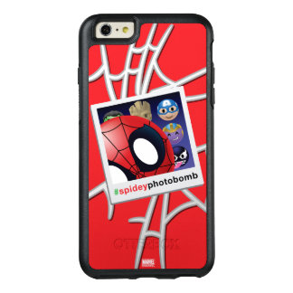 #spideyphotobomb Spider-Man Emoji OtterBox iPhone 6/6s Plus Case