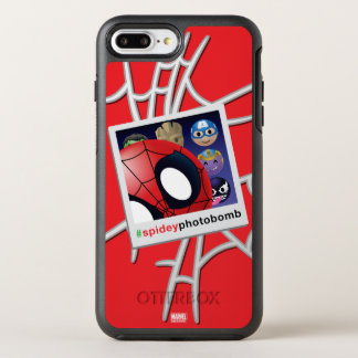 #spideyphotobomb Spider-Man Emoji OtterBox Symmetry iPhone 8 Plus/7 Plus Case