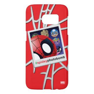#spideyphotobomb Spider-Man Emoji Samsung Galaxy S7 Case