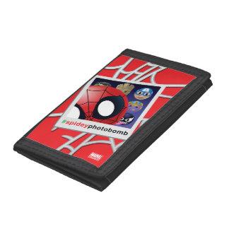 #spideyphotobomb Spider-Man Emoji Tri-fold Wallets