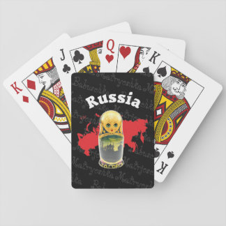 Spielkarten babushka Matrjoschka Matryoshka Playing Cards