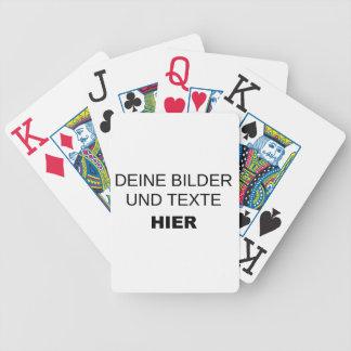 Spielkarten komplett selbst gestalten bicycle playing cards
