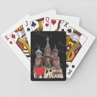 Spielkarten Moscow Russia Russia Playing Cards