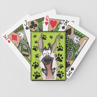 Spielkarten motive: merry dog Canasta Bicycle Playing Cards