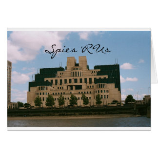 Spies 'R Us Greeting Card