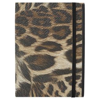 Spiffy Leopard Spots Leather Grain Look