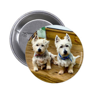 Spike and Polar. 2 Inch Round Button