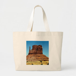 spike in the monument large tote bag