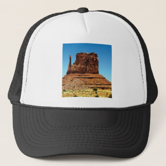 spike in the monument trucker hat