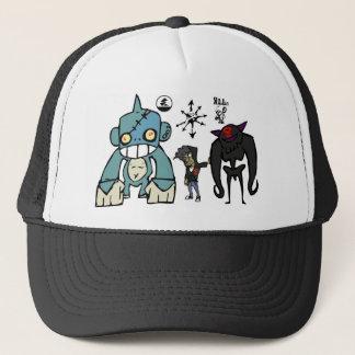 Spike, Squidy, and Rilla Trucker Hat