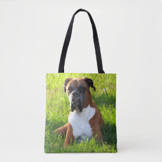 Spike the Boxer  - Tote