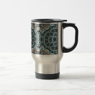 Spikes, Points, and Swirls Travel Mug