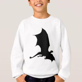 Spiky Dragon Silhouette Sweatshirt