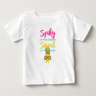 Spiky On Outside Sweet On The Inside Baby T-Shirt