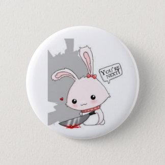 Spilla Killer Bunny 2 Inch Round Button