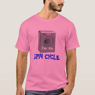 Spin Cycle T-Shirt - Pink