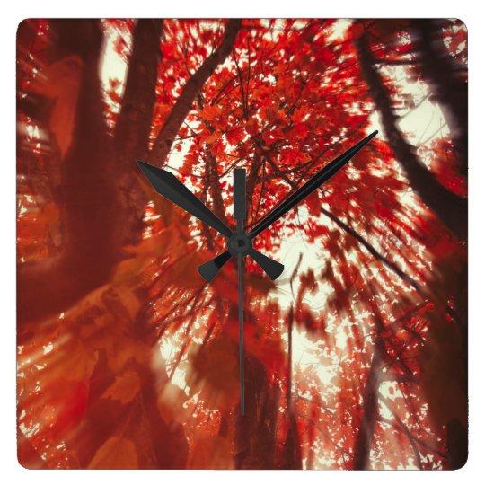 Spin (Red) Wallclock