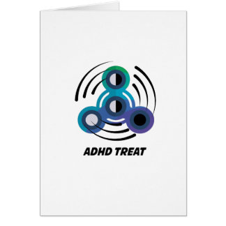 Spin Storm  Toy Hand Spinner  ADHD Awareness Card