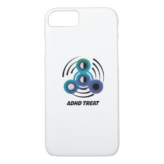 Spin Storm  Toy Hand Spinner  ADHD Awareness iPhone 8/7 Case