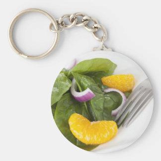 Spinach Mandarin Salad Keychain
