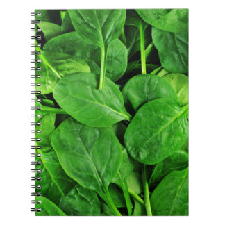 Spinach Notebook