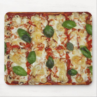 Spinach Pizza Funny Mouse Pad