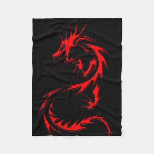 Spinal Dragon Fleece Blanket