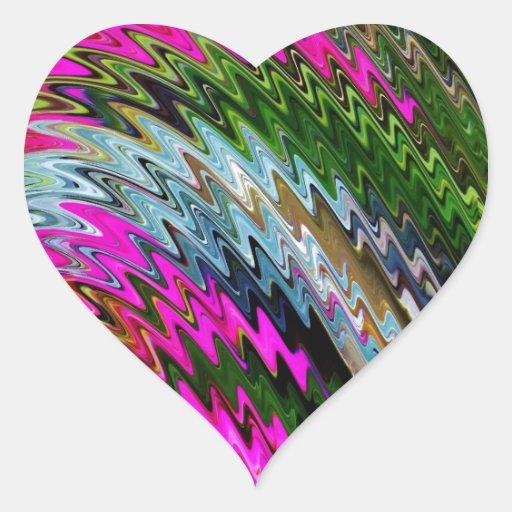 Spinart! Garden Party Heart Sticker