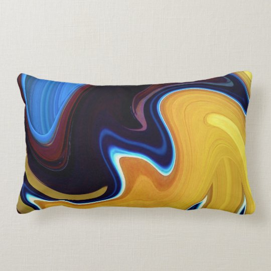 Spinart! Stir Crazy Lumbar Pillow
