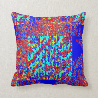 Spine Crack Throw Pillows