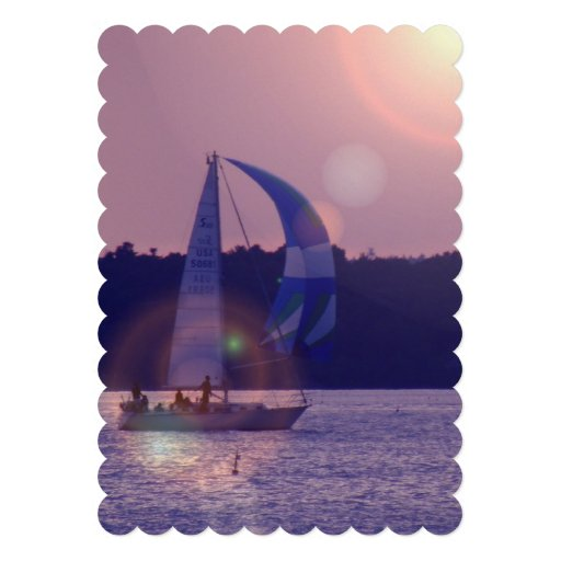 Spinnaker Sailboat Cards