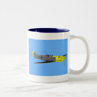 spinner, ME109 E, September 1940 Two-Tone Coffee Mug
