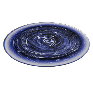 Spinning Blue Star Cutting Board