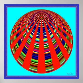 Spinning Carousel Poster