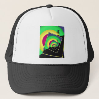Spinning Disc Golf Baskets 5 Trucker Hat