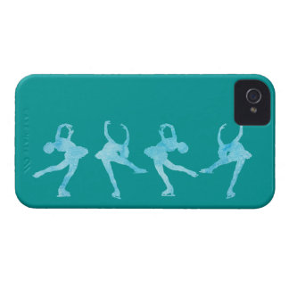 Spinning Figure Skater iPhone 4 Case-Mate Cases