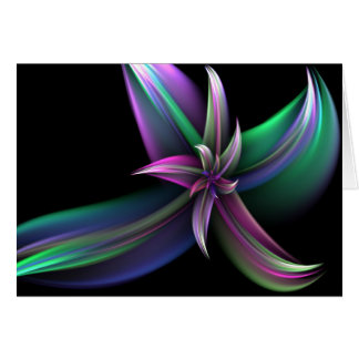 Spinning Flower Greeting Card